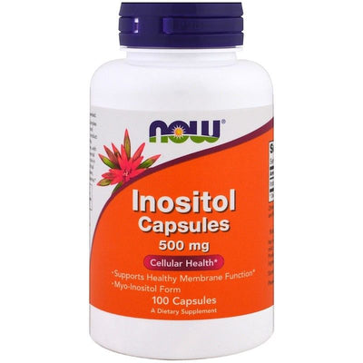 Now Foods, Inositol Capsules, 500 mg, 100 Capsules