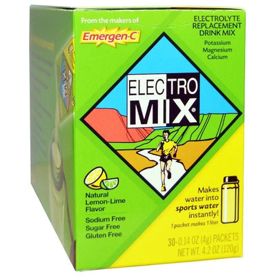 Emergen-C, Electro Mix, Lemon-Lime, 30 Packets, 0.14 oz (4 g) Each