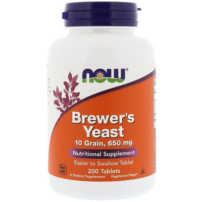 Now Foods, Brewer's Yeast, 200 Tablets