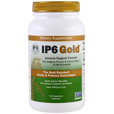 IP-6 International, IP6 Gold, Immune Support Formula, 120 Vegetarian Capsules