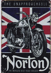 Norton - World's Best Road Holder Vintage Metal Sign