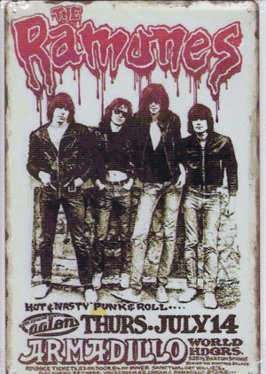 The Ramones Vintage Metal Sign