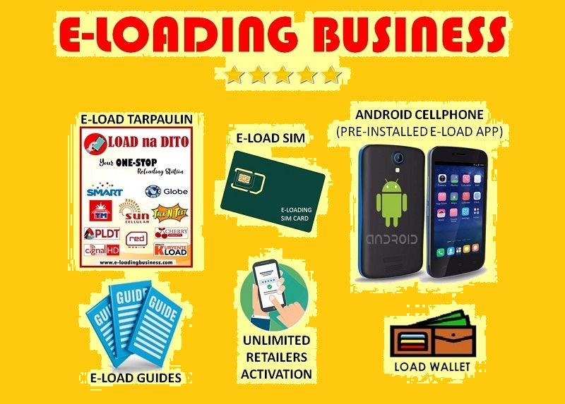 Eload Business with Android Phone Package (Best Seller!)