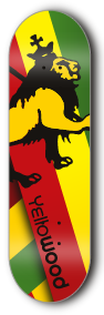 JUDAH LION SERIES - yellowood fingerboard fingerskate