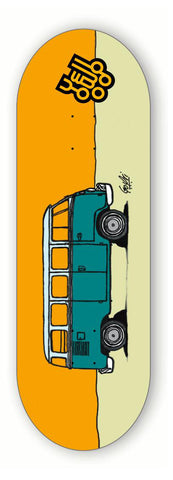 Vw T1 - yellowood fingerboard fingerskate