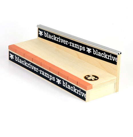 +blackriver-ramps+ Brick 'n' Rail - yellowood fingerboard fingerskate
