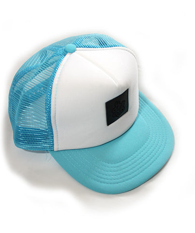 Trucker light blue - yellowood fingerboard fingerskate