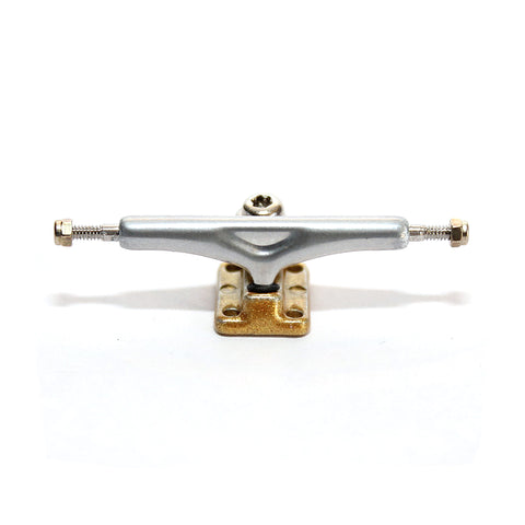 Chrome/Gold  X5 - yellowood fingerboard fingerskate