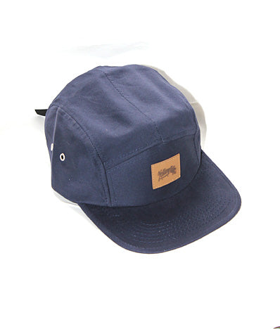 Navy 5panels - yellowood fingerboard fingerskate