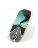 Wrong way - yellowood fingerboard fingerskate