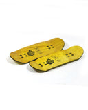 Guitar - yellowood fingerboard fingerskate