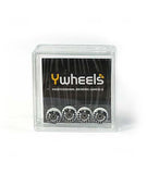 Ywheels Y3 DualW 65D Graphic checkers - yellowood fingerboard fingerskate