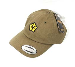 green Dad hat - yellowood fingerboard fingerskate