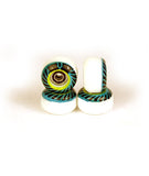 Ywheels Y2 DualW Graphic Tiffany - yellowood fingerboard fingerskate