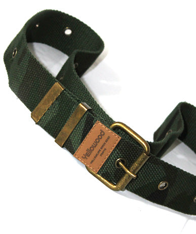 Camo belt - yellowood fingerboard fingerskate