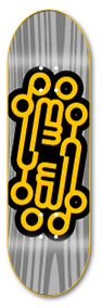 Logo Grey - yellowood fingerboard fingerskate