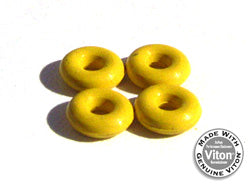 Ytrucks Yellow Bushings - yellowood fingerboard fingerskate