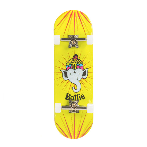 Bollie green Fingerboard Set complete - yellowood fingerboard fingerskate