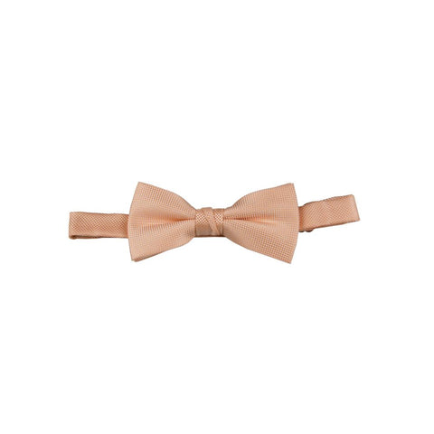 Carlo Visconti Melon Self Pattern Bow Tie