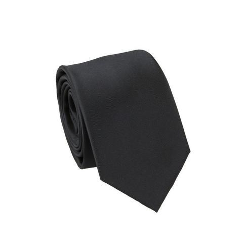 Carlo Visconti Microfiber Black Tie