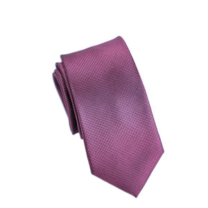 Carlo Visconti Microfiber Burgundy Slim Self Patterned Tie