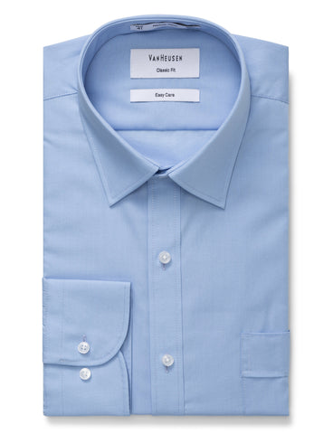 Classic Fit Van Heusen Blue Shirt For Men