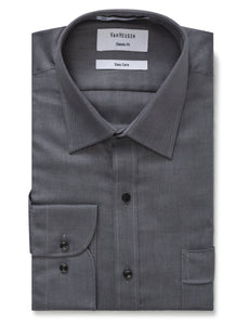 Classic Fit Van Heusen Charcoal Shirt for Men