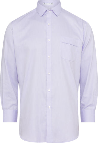 Classic Fit Van Heusen Lilac Shirt For Men