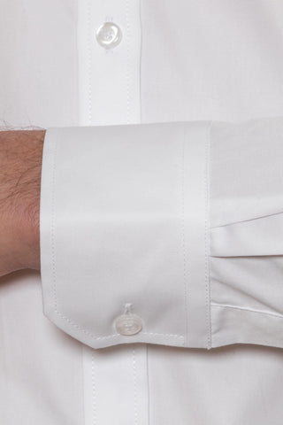 New England White Slim Fit Shirt Sale For Men
