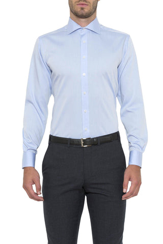 Regular Fit Sky Cambridge Shirt