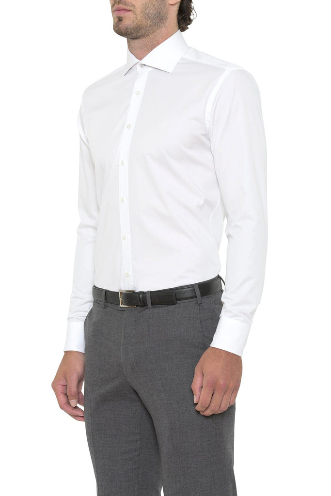 Regular Fit White Cambridge Shirt