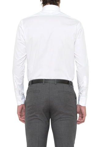 Image of Regular Fit White Cambridge Shirt