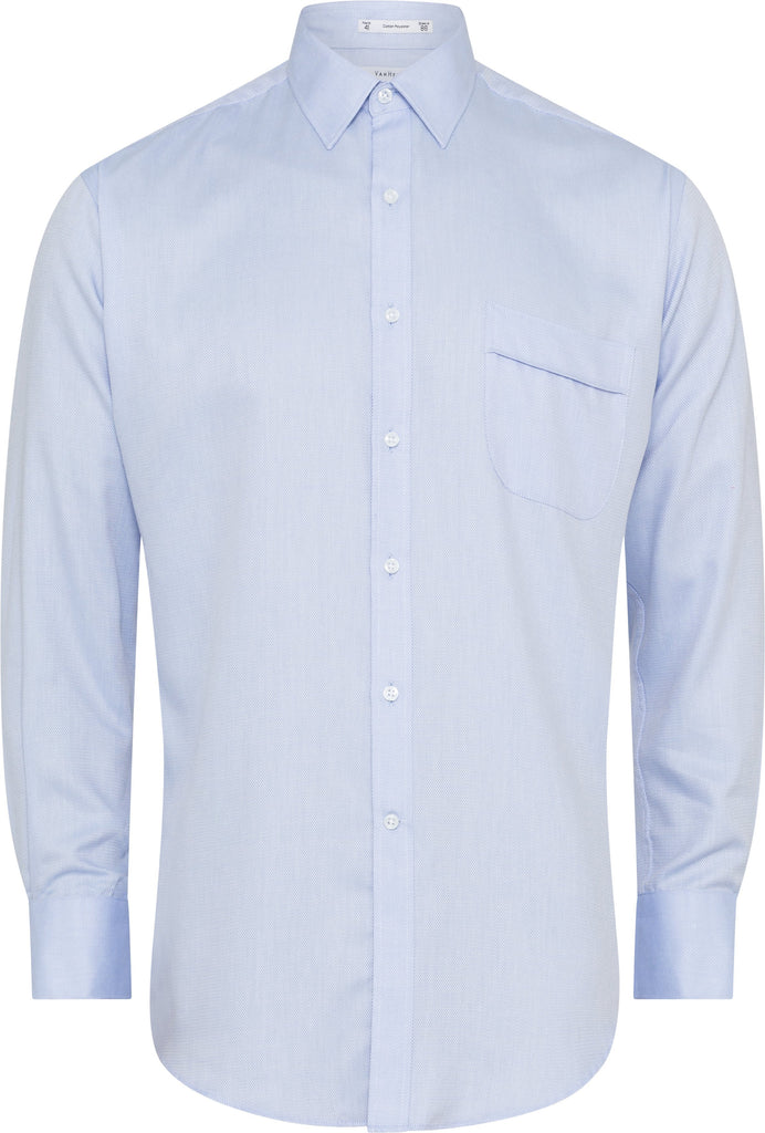Van Heusen Classic Fit Blue Shirt For Men