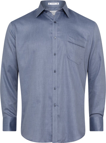 Van Heusen Classic Fit Navy Shirt For Men
