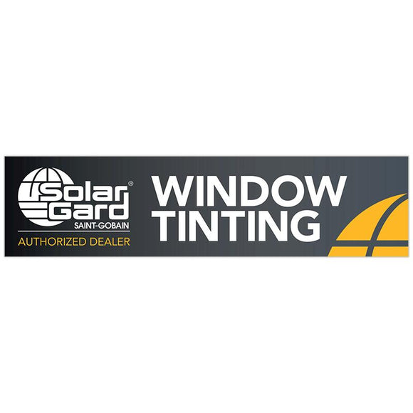 Banner - Window Tinting (Black) - 120