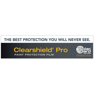 "Banner - Clearshield Pro - 120"" x 30"""