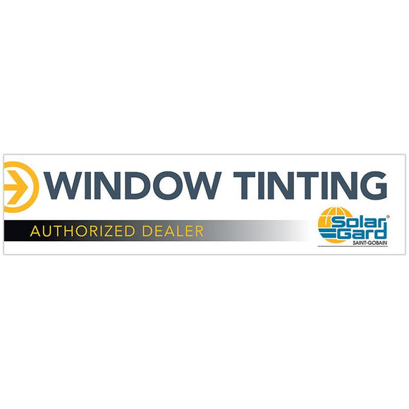 Banner - Window Tinting (White) - 120