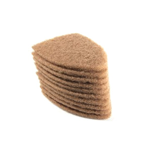 TRI EDGE SCRUB-IT TAN PADS, 10 PACK