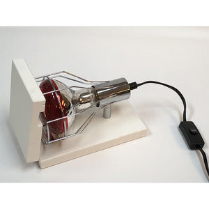 Infrared Heat Lamp with Flip-Up Base