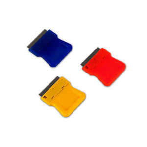 Razor Blades Scraper - Plastic - 1in - Assorted