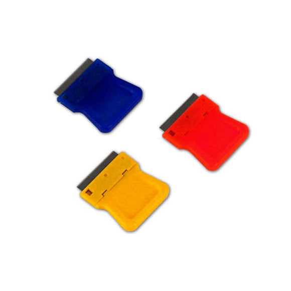 ST0558   Razor Blades Scraper - PlaSTic - 1in - Assorted