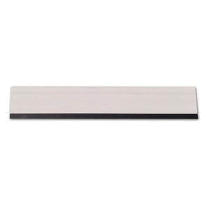 Flat Hard Card w/Black Rubber Edge - 12in