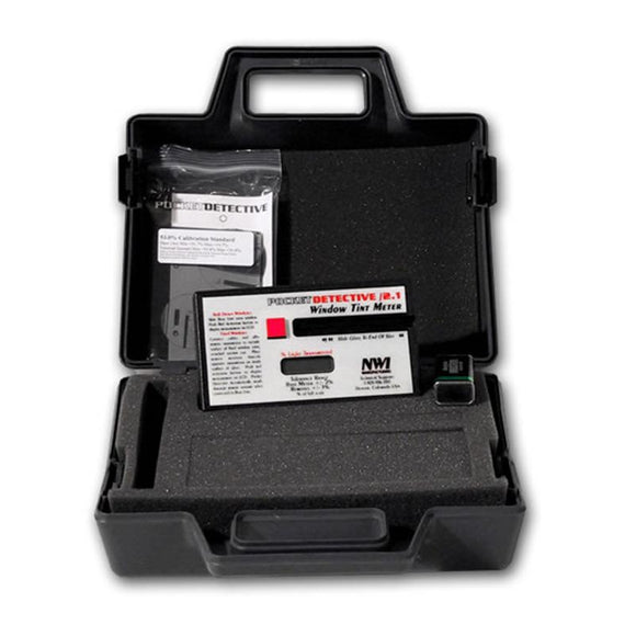 Pocket Detect - Tint Meter w/Case
