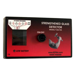 Strengthened Glass Detector