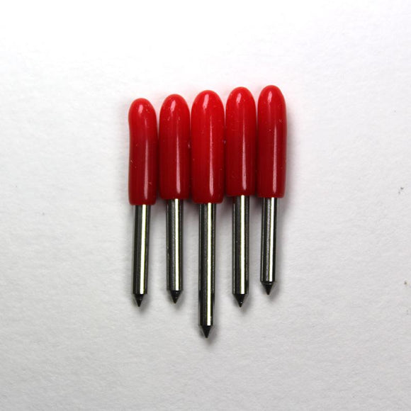 Jaguar IV Plotter Red Cap - 45 Degree Blade - 5 pack