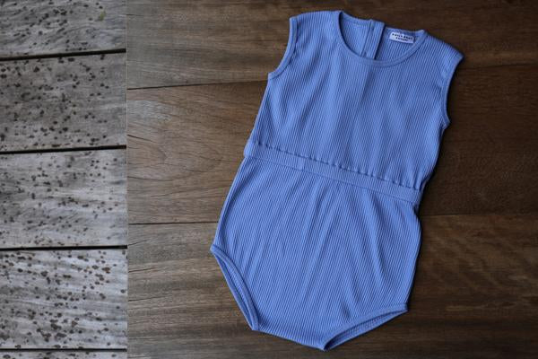 DAILY BRAT JIXY PLAYSUIT SERENITY BLUE