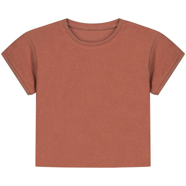 DAILY BRAT TURNER TOWEL T-SHIRT SUMMER CINNAMON