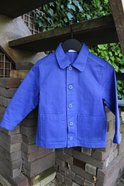 DAILY BRAT MAVE JACKET ROYAL BLUE