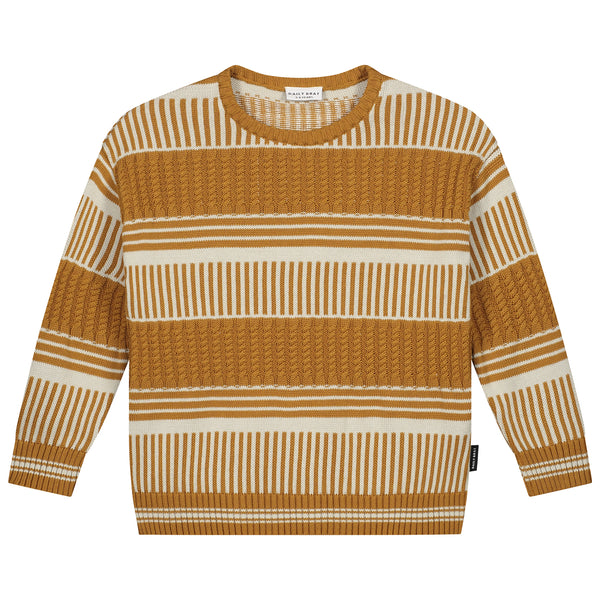 RIVER KNITTED SWEATER SANDSTONE