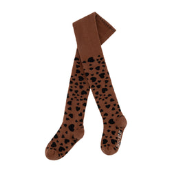 HEART TIGHTS SIENNA BROWN